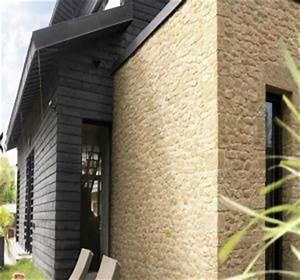 Pierre Facade Exterieur : facade les plaquettes de parement habitatpresto ~ Dallasstarsshop.com Idées de Décoration