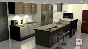 3ds Max Deluxe Kitchen Filght Through YouTube