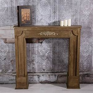 Kamin Attrappe Holz : details zu deko kamin attrappe kaminkonsole kaminumbau ~ Michelbontemps.com Haus und Dekorationen