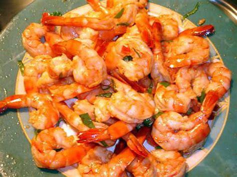 cuisiner crevette les meilleures recettes d 39 apero crevettes