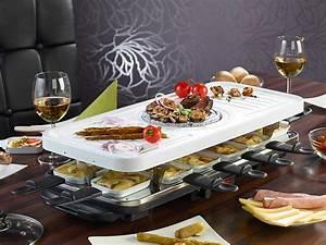 Geschirrset Für 12 Personen : tv das original keramik raclette und fondue set f r bis zu 12 personen watt ~ Orissabook.com Haus und Dekorationen