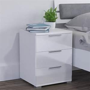Kommode Weiß Hochglanz Schlafzimmer : vicco nachtschrank kommode nachttisch schrank real ~ Bigdaddyawards.com Haus und Dekorationen