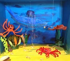 Ocean Diorama Ideas