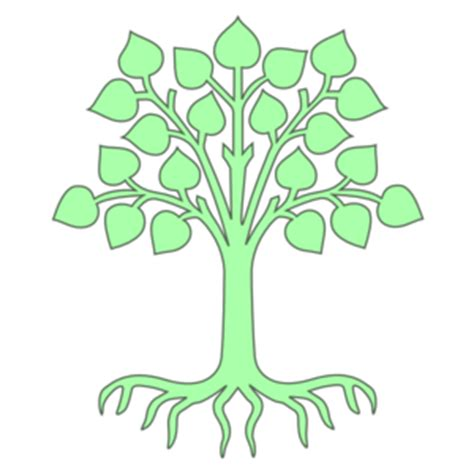 family tree with roots clipart tree light green clip clipart panda free clipart