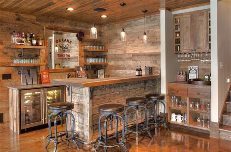 elegant rustic home bar designs   customize