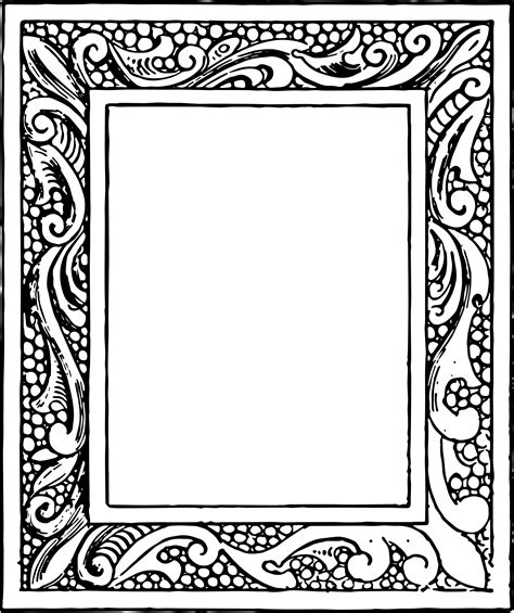 Picture Frame Clipart Free Vector Clipart Vintage Frames Oh So Nifty Vintage