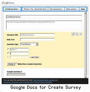 Google docs for Google docs poll create