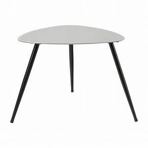 Table Basse Retro : table basse vintage grise rainbow maisons du monde ~ Teatrodelosmanantiales.com Idées de Décoration