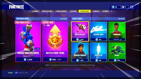 fortnite item shop today fortnite item shop april 11 2018 new featured items and