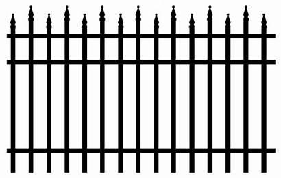 Fence Savannah Iron Wrought Aluminum Pngimg Decorative