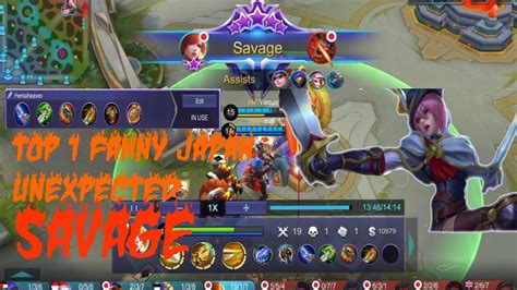 Savage?! Top 1 Fanny Japan Aggressive
