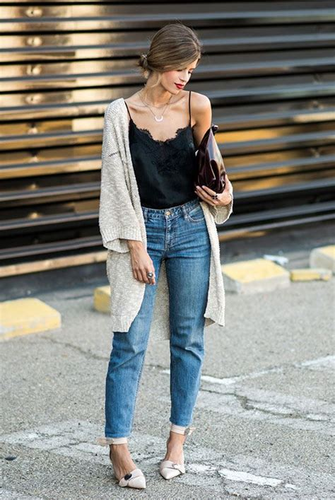 The Best Outfit Ideas Of The Week   Pinterest   Outfit night Dinner outfits and Chunky cardigan