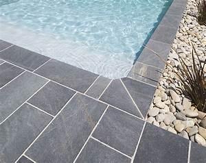 Margelle Piscine Grise : margelles et dallage piscine faites votre choix de ~ Melissatoandfro.com Idées de Décoration