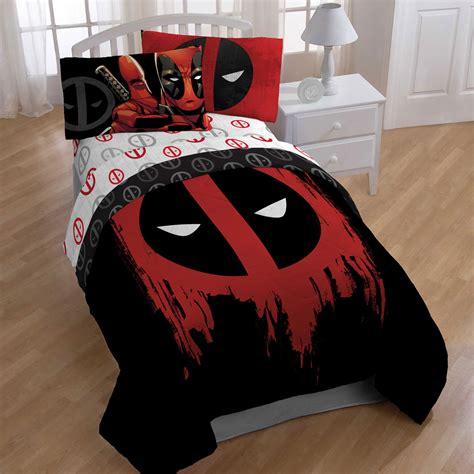marvel deadpool bedroom set
