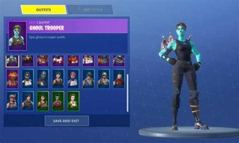 Ghoul Trooper Outfit Fnbrco Fortnite Cosmetics 26