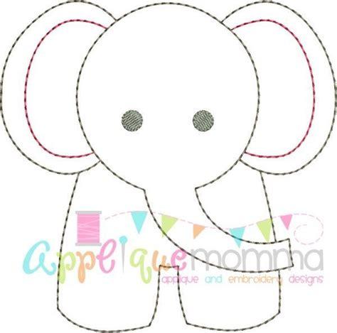 Elephant Template Elephant Vintage Embroidery Design Templates