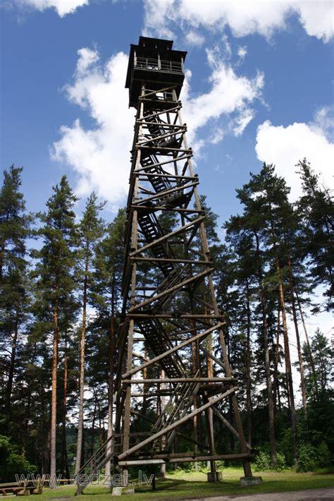 Skatu tornis Krāslavā - Priedaines skatu tornis - redzet.lv