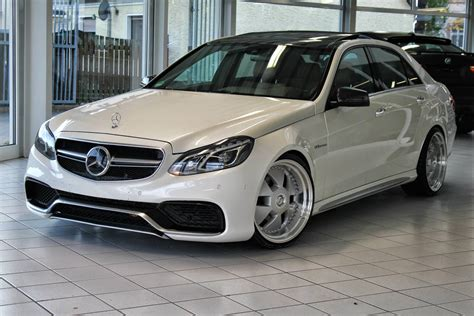 Mercedes-benz W212 E63 Amg(e350) On R20 Mae Wheels