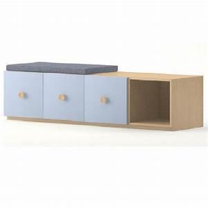 Meuble Chaussure Avec Assise : meuble de rangement 3 portes et 1 casier meubles rangement ~ Teatrodelosmanantiales.com Idées de Décoration