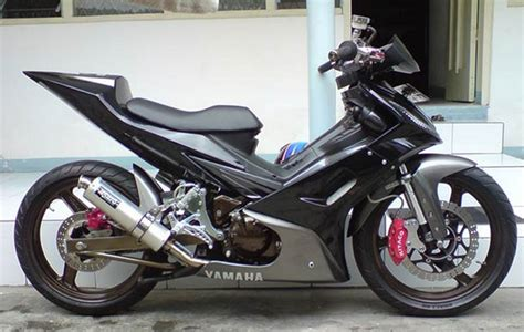 Modif Jupiter Mx Cw by Gambar Motor Modif Jupiter Mx Sederhana 135 King Airbrush