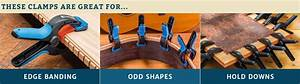 Shop Spring Clamps At Rockler