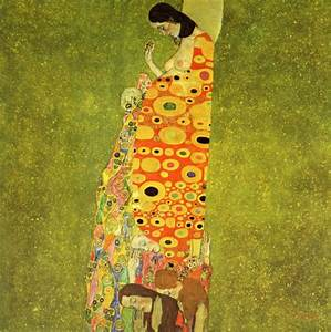 Gustav Klimt. Hope II. 1907-1908 | Famous artists or ...