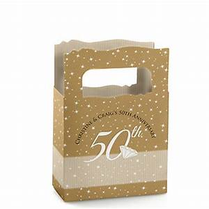 50th anniversary personalized wedding anniversary mini With 50th wedding anniversary favor boxes