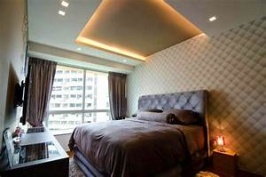 faux plafond suspendu une solution moderne et pratique With plafond chambre a coucher