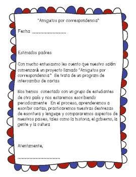 pal announcement letter  spanish   touch