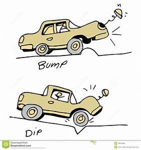 Nid De Poule Route : voiture heurtant la bosse et le nid de poule dans la route illustration de vecteur image 34224964 ~ Medecine-chirurgie-esthetiques.com Avis de Voitures