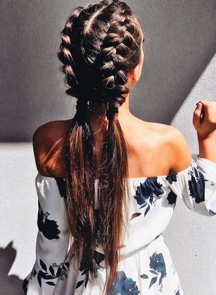 beautiful french braid styles   savoir flair