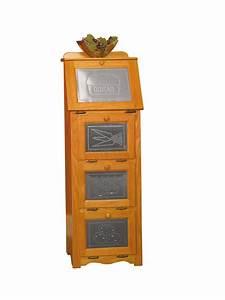 Amish Wooden Vegetable Bin Storage