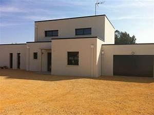 1000 idees sur le theme maison toit plat sur pinterest With plan de maison facade 4 le refuge adornetto