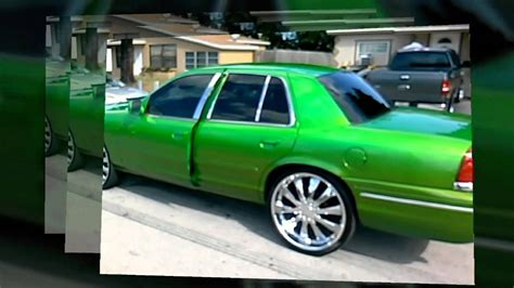 candy green crown vic  sale youtube