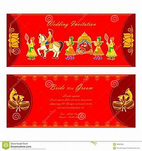 indian wedding invitation card stock vector image 48582390 With hindu wedding invitations vector