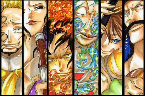 One Piece Whitebeard Pirates Wallpaper