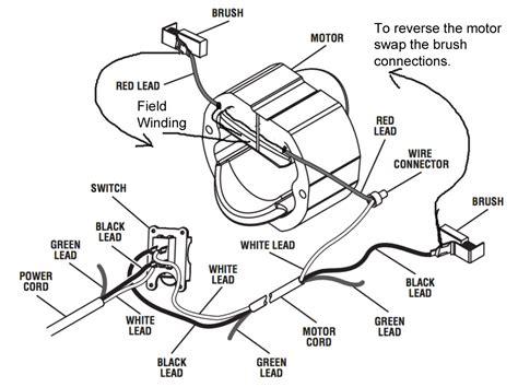 Reversing Direction Universal Motor Electrical