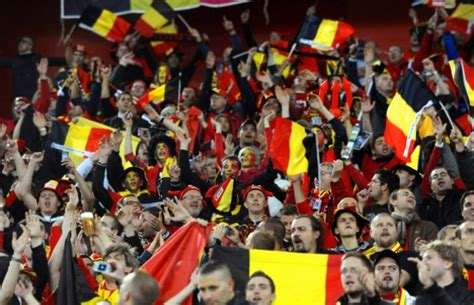 supporter belges coupe du monde  football tennis
