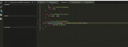 Java Code Visual Studio Replacement Hcr Class