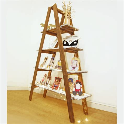 a frame shelf a frame ladder display shelf units pop up furniture for