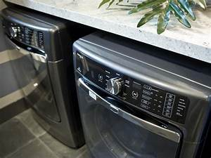 Photo page hgtv for Under cabinet washer and dryer