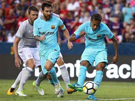 International Champions Cup: Neymar Scores As Barcelona ...