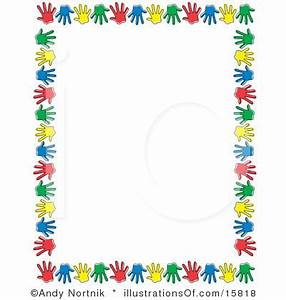 Free Preschool Clip Art | STATIONARY or SCRAPBOOK Border ...