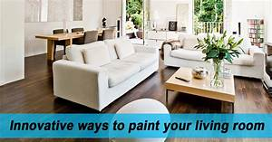 5 Innovative Ways To Paint Your Living Room