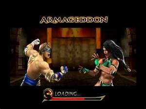 Mortal Kombat Armageddon - Johnny Cage - 1/2 - YouTube
