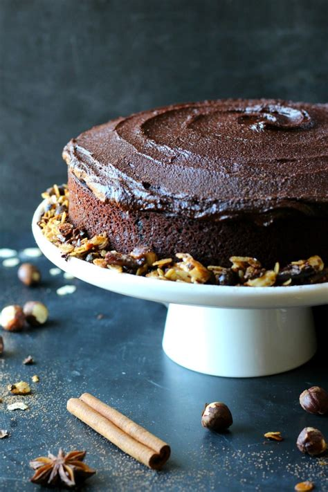 chocolate espresso chocolate espresso hazelnut cake garden in the kitchen