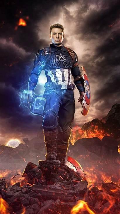 Captain America Mjolnir Worthy Iphone Battle Final