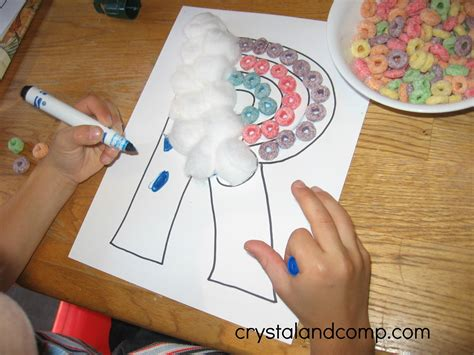 letter r crafts letter of the week r is for rainbow preschool craft