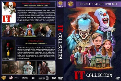 IT Collection (1990-2017) R1 Custom DVD Cover - DVDcover.Com