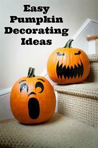 Easy, Pumpkin, Decorating, Ideas